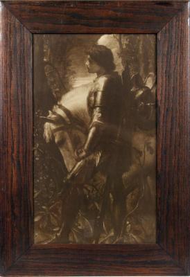 Print, Photomechanical Lithograph of Sir Galahad