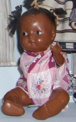 Small Black Baby Doll