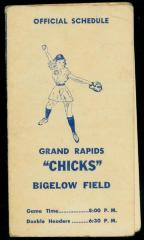 Schedule, AAGBBL Grand Rapids Chicks