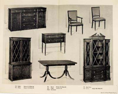 Furniture Plate Grand Rapids Chair Company & Grand Rapids Public Museum Collections : Furniture Company : Grand ...