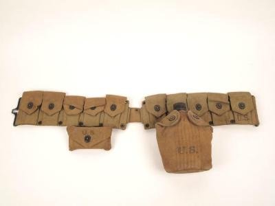 Cartridge Belt with Canteeen And First-Aid Kit
