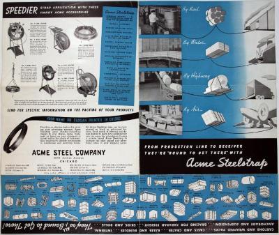 Brochure, Acme Steelstrap