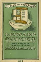 Archival Collection #013 - Leonard Refrigerator Company