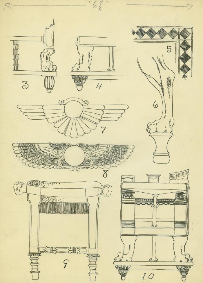 "Archival Collection #025 - ""Furniture Record"" Artwork"