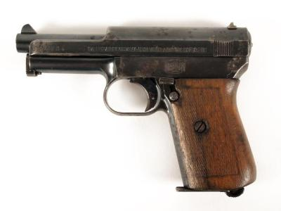 Pistol, Mauser Model 1914 Pocket Pistol