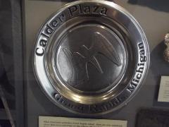 Plate, Calder Plaza