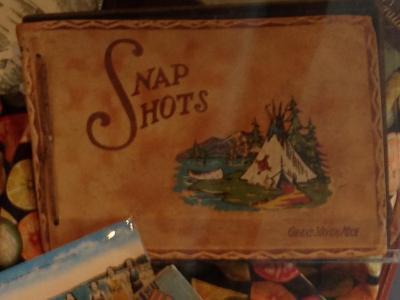 Souvenir Photo Album, 'Snap Shots, Grand Haven, Mich.'