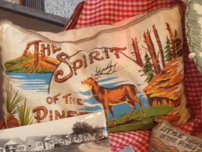 Balsam Sachet Pillow, 'spirit Of The Pines'