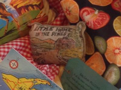Balsam Sachet Pillow From Sault Ste. Marie 'lil' Home'