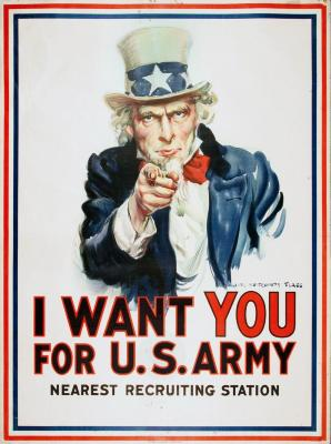 Poster, I Want You Uncle Sam