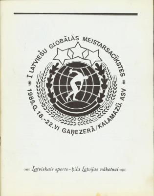 Archival Collection #136 - Alex Grinbergs Latvian Language Publications