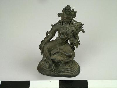 Figurine, Green Tara
