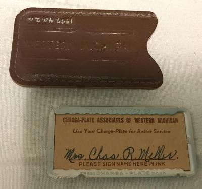 Charge-card, Associates Of Western Michigan