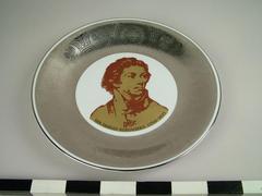 Plate, Commemorative, 'kosciuszko'