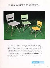 Brochure, American Seating Co., To seat a school of scholars...