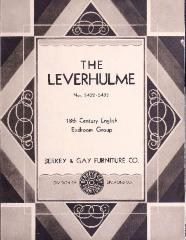 Pamphlet, Berkey & Gay Furniture Company, The Leverhulme