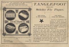 Advertisement, Tanglefoot
