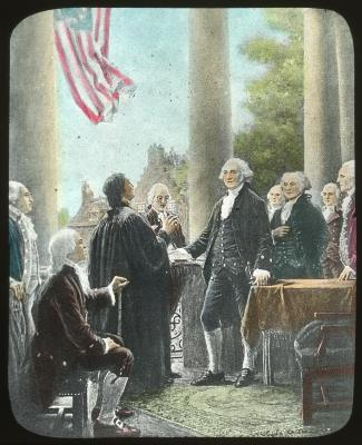 American Revolution, Washington Informed of his Election