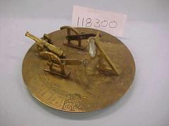 Cannon Sundial, 1800s