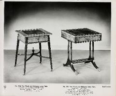 Furniture Plates (10), William A. Berkey Furniture Company