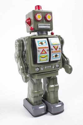 Toy Robot, Space Walk Man With Original Box