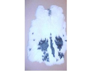 Rabbit Skin, Black And White Fur