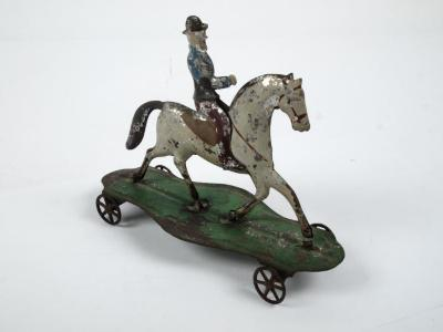 Toy, Horse And Rider