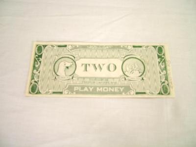 Play Money, $2.00