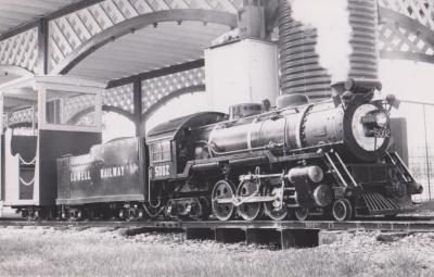 Postcard, Photograph of Lowell Railway