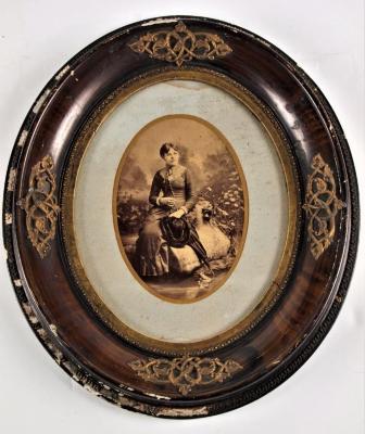 Studio Photograph, An Unidentified Woman