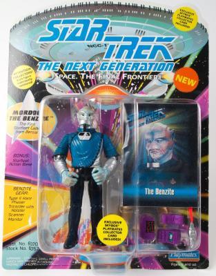 "Action Figure, Star Trek The Next Generation, ""the Benzite"""