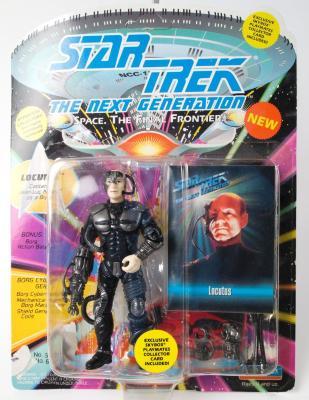 "Action Figure, Star Trek The Next Generation, ""Locutus"""