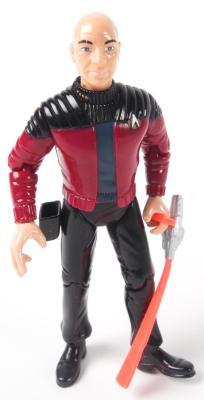 """Action Figure, Star Trek The Next Generation, """"Captain John Luke Picard"""""""