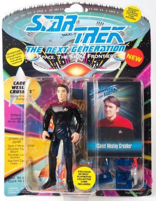 "Action Figure, Star Trek The Next Generation, ""Cadet Wesley Crusher"""