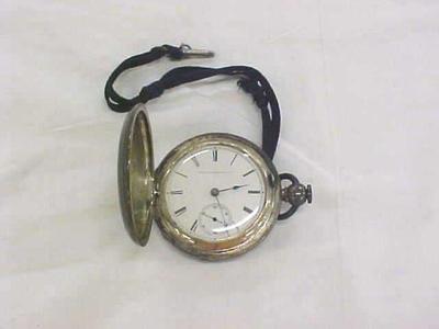 Pocket Watch With Key