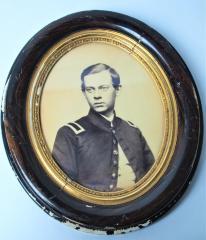 Framed Photograph, Charles W. Calkins