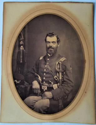 Photograph of an unidentified Union Civil War Officer