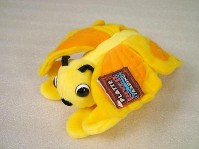 Glove Puppet, Yellow Butterfly