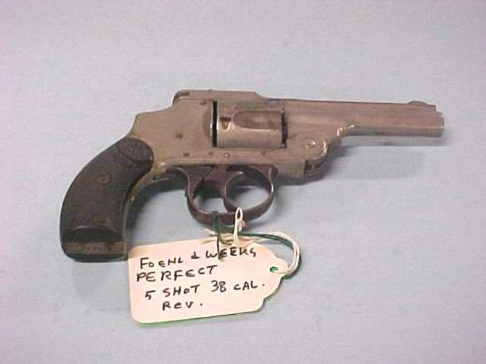 Revolver, 5 Shot, 38 Caliber